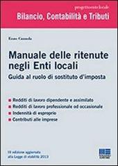 Manuale delle ritenute nell'Ente Locale