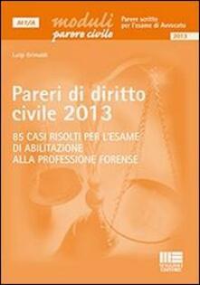Ilmeglio-delweb.it Pareri di diritto civile 2013 Image