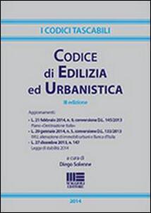 Codice di edilizia ed urbanistica