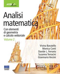Libro Analisi matematica. Con elementi di geometria e calcolo vettoriale. Vol. 2