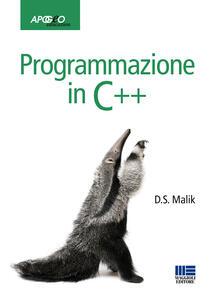 Programmazione in C++