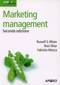Libro Marketing management Russel S. Winer , Ravi Dhar , Fabrizio Mosca