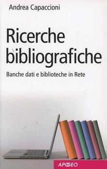 Birrafraitrulli.it Ricerche bibliografiche. Banche dati e biblioteche in rete Image