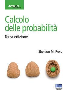 Calcolo delle probabilità - Sheldon M. Ross - copertina