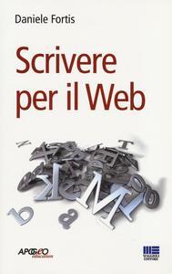 Scrivere per il web - Daniele Fortis - copertina