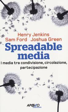 Writersfactory.it Spreadable media. I media tra condivisione, circolazione, partecipazione Image