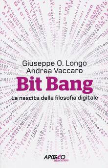 Festivalshakespeare.it Bit Bang. La nascita della filosofia digitale Image