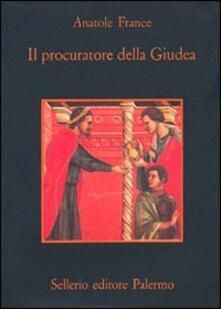 Il procuratore della Giudea - Anatole France - copertina