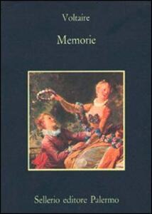 Memorie - Voltaire - copertina
