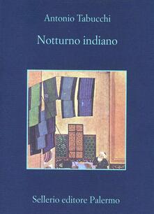 Notturno indiano - Antonio Tabucchi - copertina