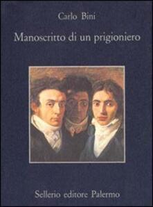 Filippodegasperi.it Manoscritto di un prigioniero e altre cose Image