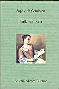 Sulla simpatia - Sophie de Condorcet - copertina