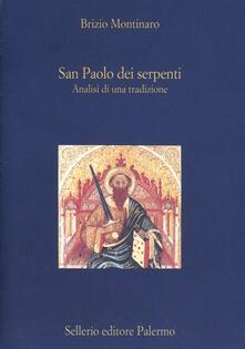 Criticalwinenotav.it San Paolo dei serpenti. Analisi di una tradizione Image