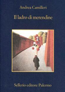 Il ladro di merendine - Andrea Camilleri - copertina