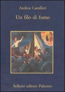 Un filo di fumo - Andrea Camilleri - copertina