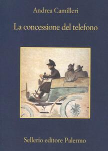 La concessione del telefono - Andrea Camilleri - copertina