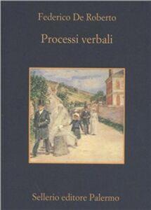Libro Processi verbali Federico De Roberto