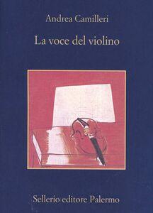 Libro La voce del violino Andrea Camilleri