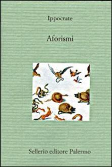 Aforismi - Ippocrate - copertina