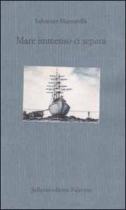 Libro Mare immenso ci separa Salvatore Mazzarella