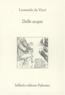 Delle acque - Leonardo da Vinci - copertina
