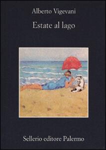 Libro Estate al lago Alberto Vigevani