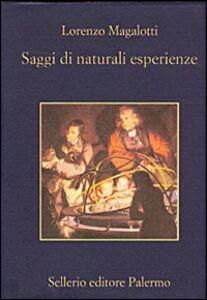Libro Saggi di naturali esperienze Lorenzo Magalotti
