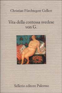 Libro Vita della contessa svedese von G. Christian Fürchtegott Gellert
