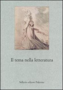 Letterarioprimopiano.it Il tema nella letteratura Image