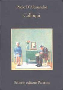 Libro Colloqui Paolo D'Alessandro