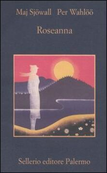 Roseanna - Maj Sjöwall,Per Wahlöö - copertina