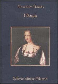 I Borgia - Alexandre Dumas - copertina
