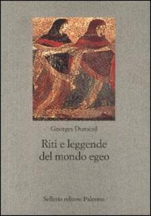 Riti e leggende del mondo egeo. Il crimine delle donne di Lemno - Georges Dumézil - copertina