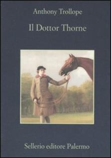 Il dottor Thorne - Anthony Trollope - copertina