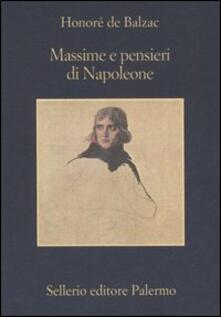 Massime e pensieri di Napoleone - Honoré de Balzac - copertina
