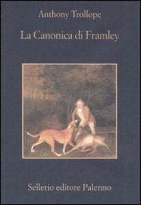 Libro La canonica di Framley Anthony Trollope