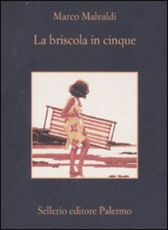 La briscola in cinque - Marco Malvaldi - copertina
