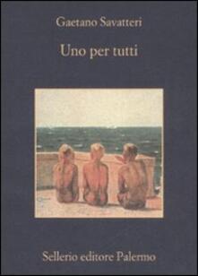 Letterarioprimopiano.it Uno per tutti Image