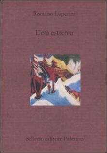 L' età estrema - Romano Luperini - copertina