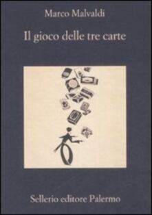 Il gioco delle tre carte - Marco Malvaldi - copertina