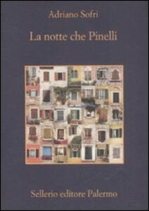 La notte che Pinelli - Adriano Sofri - copertina