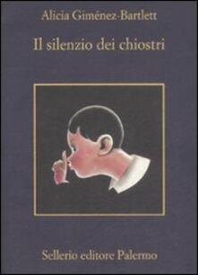 Il silenzio dei chiostri - Alicia Giménez Bartlett - copertina