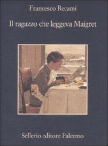 Ristorantezintonio.it Il ragazzo che leggeva Maigret Image