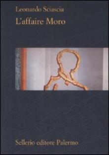 L' affaire Moro - Leonardo Sciascia - copertina