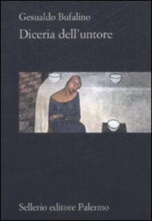 Diceria dell'untore - Gesualdo Bufalino - copertina