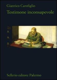 Filippodegasperi.it Testimone inconsapevole Image