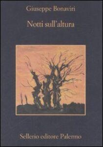 Libro Notti sull'altura Giuseppe Bonaviri