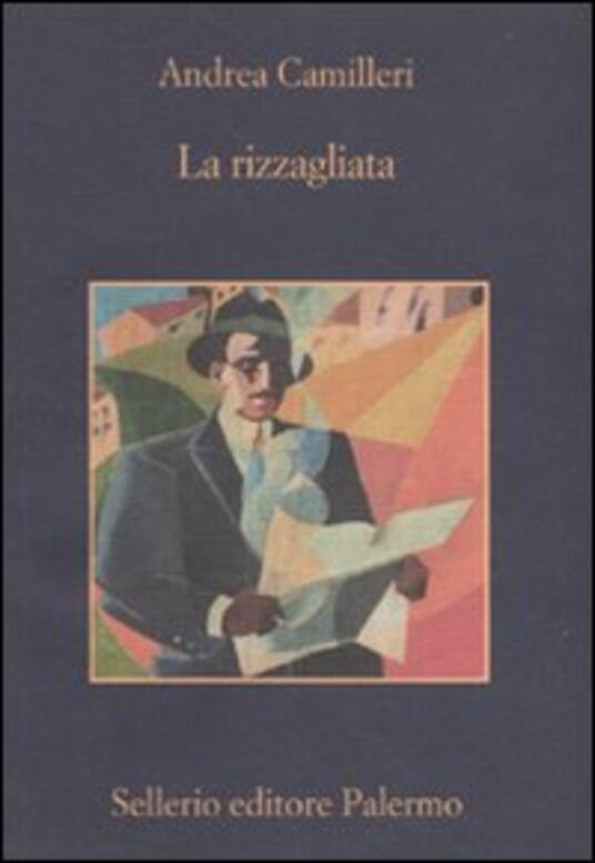 La rizzagliata - Andrea Camilleri - copertina