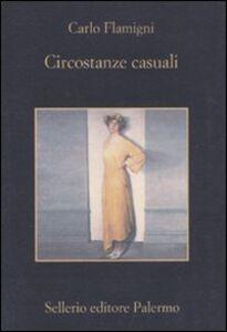 Libro Circostanze casuali Carlo Flamigni