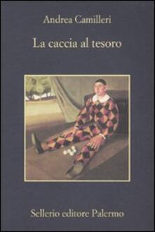 La caccia al tesoro - Andrea Camilleri - copertina